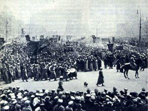 1 мая 1917 г. в Москве. На Красной площади